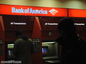 Bank of America recently bought ailing Merrill Lynch.