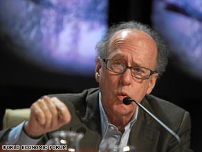 Morgan Stanley Asia boss Stephen Roach warned the world could suffer a relapse unless causes are corrected.