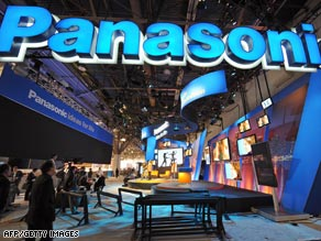 Panasonic says half the job losses will come from internatinoal workforce reductions.