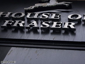 Baugur may be forced to sell its stakes in retailers such as House of Fraser.
