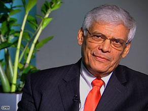 Abdalla Salem El-Badri, Secretary General of OPEC.