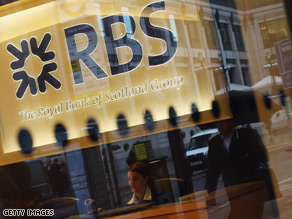 RBS posts record $34 billion loss