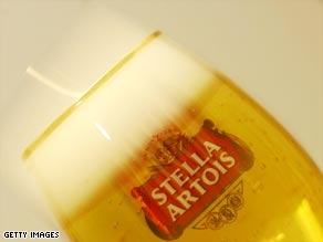 Anheuser-Busch InBev produces iconic beer brands including Stella, Becks and Budweiser.