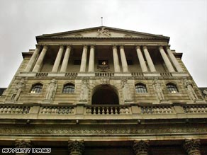 The Bank of England has decided to introduce quantitative easing.
