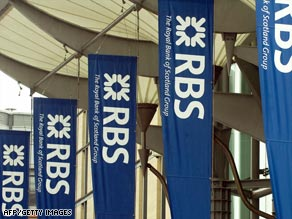 RBS last month recorded the worst loss in British corporate history.