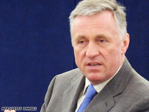 Czech Prime Minister Topolanek's comments come just days before a scheduled visit by President Obama.