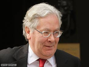 Mervyn King, the Bank of England's governor, is trying to pump money into the economy.
