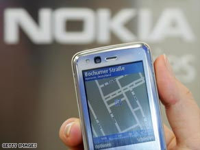 Nokia expects mobile manufacturers to see a 10 percent fall in handset sales in 2009.