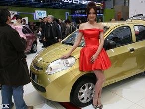 Crowds, models and carmakers are gathering in Shanghai this week.