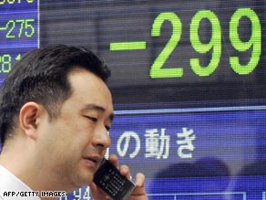 Trade figures in Japan are the latest bad news for its export driven economy.
