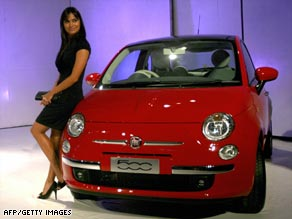 Fiat's new 500 has proved popular with car buyers.
