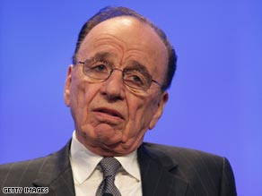 "Murdoch said the existing Internet business model was ""malfunctioning."""