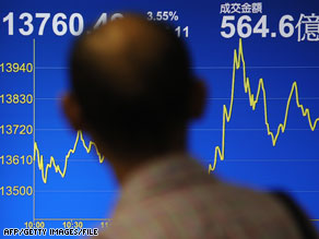 On the rise? Stock markets have shown some signs of recovery