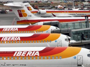 Iberia Airlines has said it plans to make cuts and review investments after worse-than-expected results.