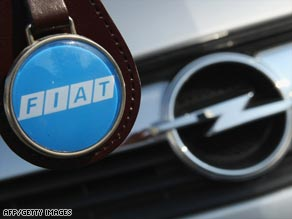 Italian carmaker Fiat is one of at least three parties interested in buying Opel.