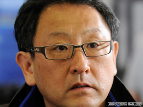 New Toyota boss Akio Toyoda says he will cut his salary by 30 percent.