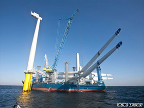 Horns Rev II will be the world's largest offshore wind farm when it opens on September 17, 2009.