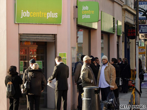 The number of people out of work in the UK has continued to rise despite claims the worst is over.