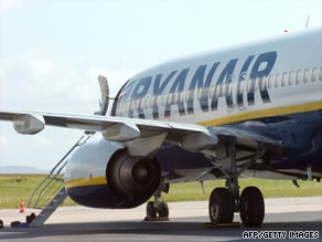 Ryanair is reducing its fleet at Stansted Airport from 40 planes to 24.