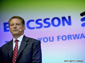 Ericssoon boss Svanberg sees opportunities ahead for the telecommunications giant.