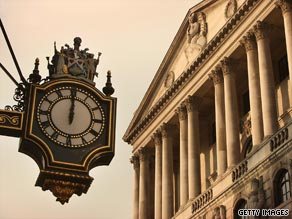 The Bank of England has held interst rates at 0.5 percent since March.