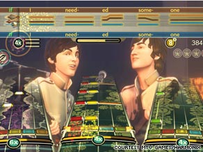 The video game industry has high hopes The Beatles 'Rock Band' will pull it out of recession.