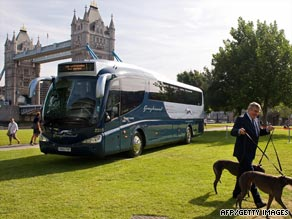 Greyhound bus services will run from London to cities such as Portsmouth and Southampton.