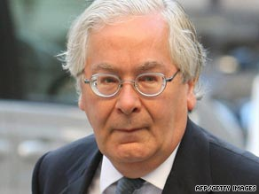 Bank of England Governor Mervyn King wants to break up Britain's banks.