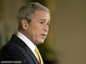 President Bush, seen Tuesday, was the subject of a Louisiana man's death threat, police say.