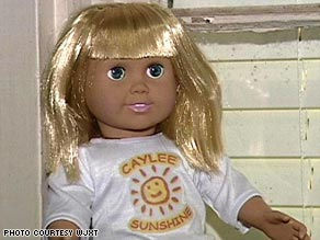 """The """"Caylee Sunshine"""" doll would have cost $29.99 but sales of the doll have been suspended."""