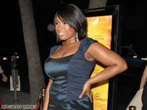 "Jennifer Hudson, at the October premiere of ""The Secret Life of Bees,"" hasn't performed in public since the killings."