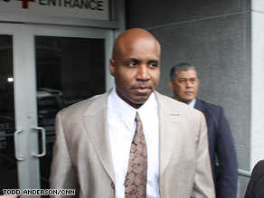 Barry Bonds said again that he was not guilty of perjury or obstruction of justice during a hearing on Thursday.