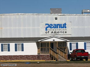 The Peanut Corporation of America is being investigated in connection with a salmonella outbreak.