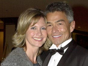 Olivia Newton-John and Patrick McDermott were together for nine years. Then he disappeared.