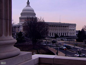 A man drove to the Capitol with a rifle and said he had a delivery for President Obama, police said.