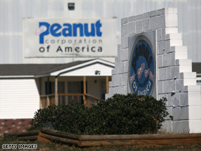 The Food and Drug Administration launched a probe of Peanut Corporation of America on January 30.