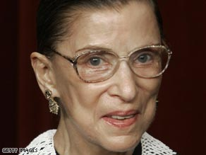 Justice Ruth Bader Ginsburg also had surgery for colorectal cancer in September 1999.