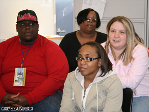 Antonio Wilson, from left clockwise, Lashaun Bates, Jennifer Gosdin and Charna-Marie Dixon.