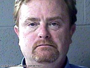 Rick Covello, 53, turned himself in to Scottsbluff, Nebraska, officials Thursday.