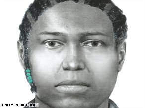 The Illinois State police worked closely with the survivor to come up with a composite of the gunman.