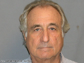 Convicted investment swindler Bernard Madoff is shown in his federal mug shot.