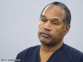 O.J. Simpson was sentenced in December to a maximum of 33 years in prison; he could get out in nine.