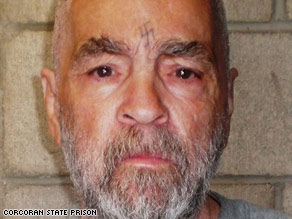Charles Manson's wild-eyed 1969 mug shot is perhaps the best known image of him.