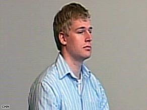 Medical student Philip Markoff, 22, appears in court Tuesday in Boston, Massachusetts.