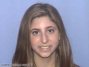 Stephanie Parente, 19, was found dead along with her sister and parents in a Baltimore hotel Monday.