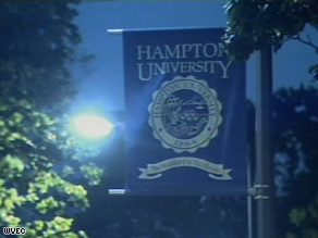 A former Hampton University student allegedly shot two people and himself, locking down the campus Sunday.