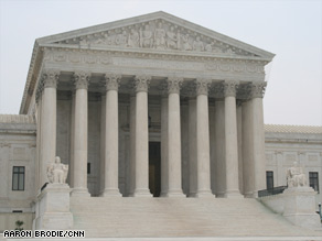 The Supreme Court unanimously sides with a Mexican arrested in a government raid on a Midwest work site.
