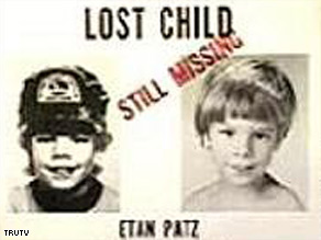 Etan Patz, who disappeared in 1979, was the first missing child featured in the milk carton campaigns of the 1980s.