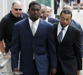 Vick leaves prison