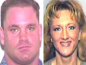Richard Thomas and his wife, Sandra, were arrested Tuesday night at their home in Lakeland, Florida.
